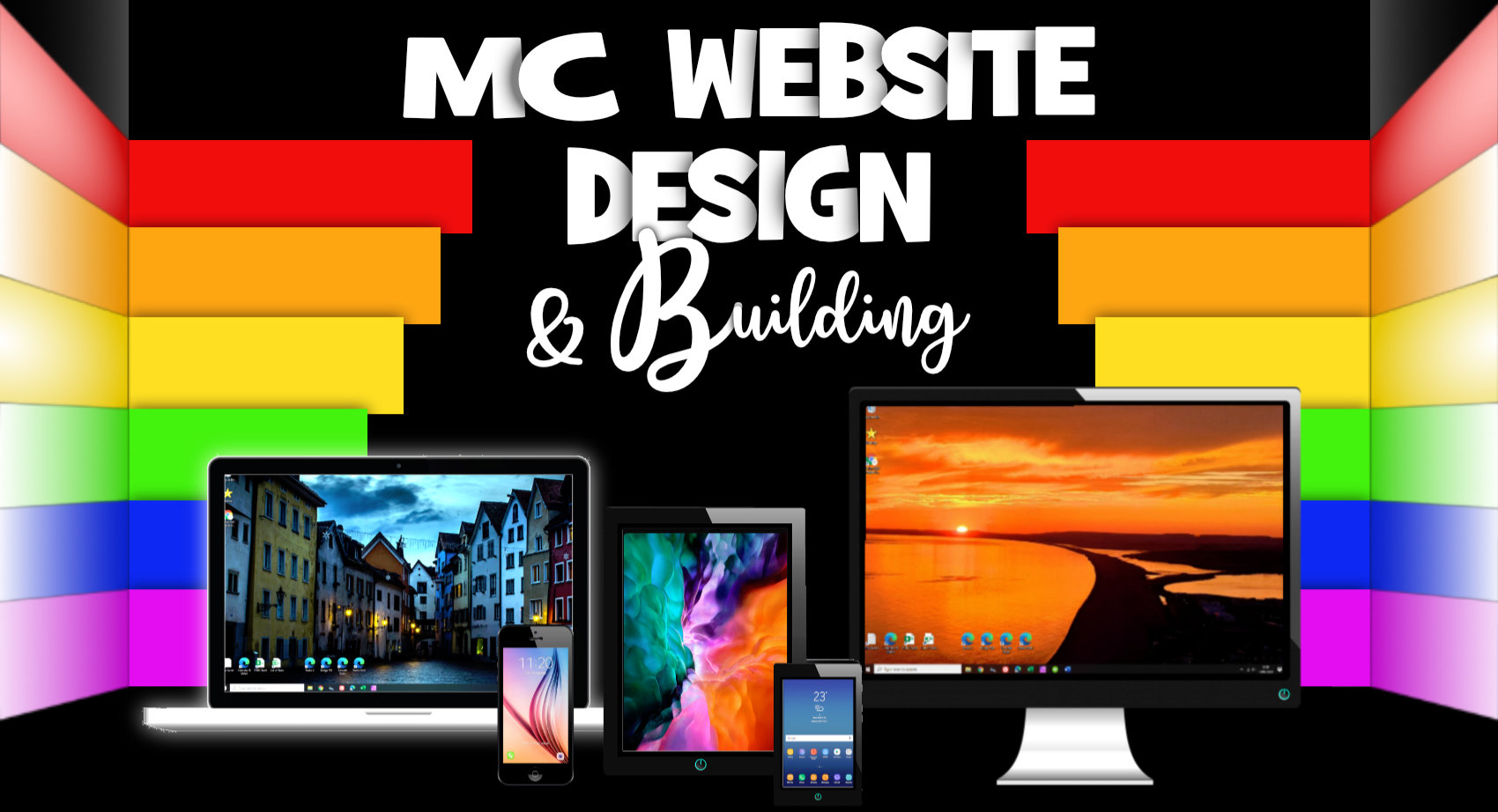 MC Website Design - get your business online and earning in days!