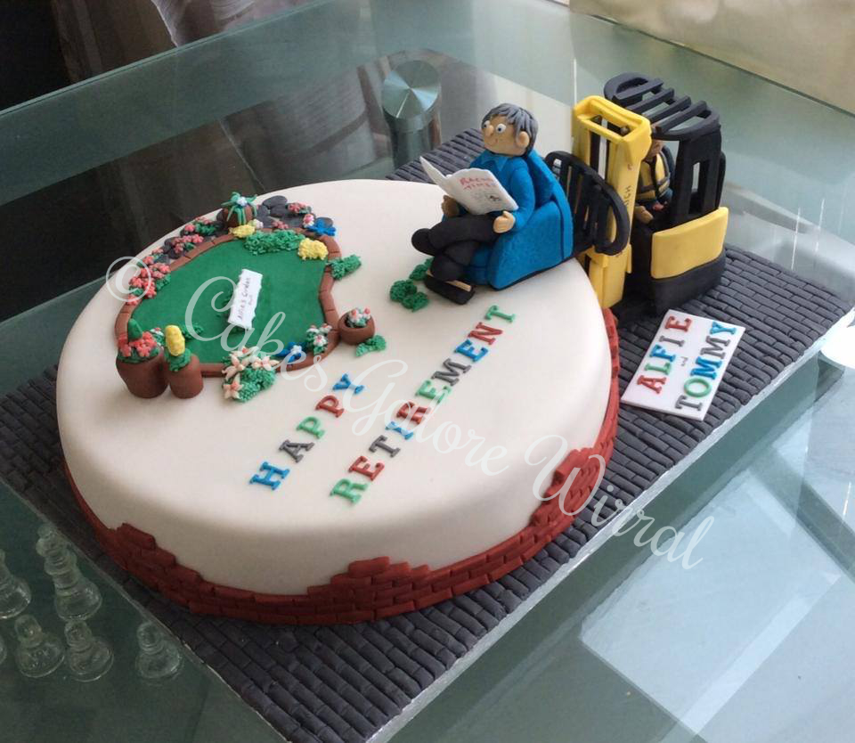 Cakes Galore Wirral -  Retirement Cake