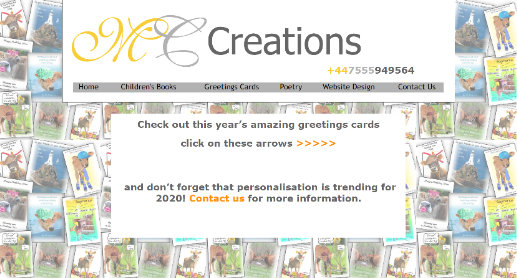 MC Creations - for all personalised gifts, cards. stationery and more
